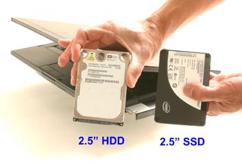 Laptop merevlemez és SSD