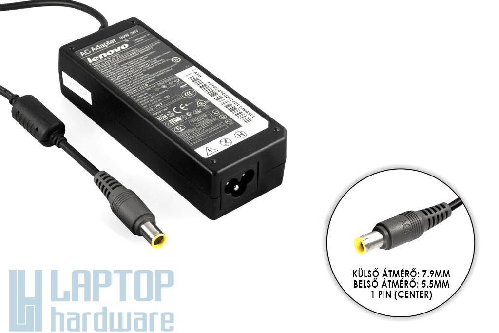 IBM Lenovo ThinkPad 20V 4.5A 90W gyári új laptop töltő (40Y7649)