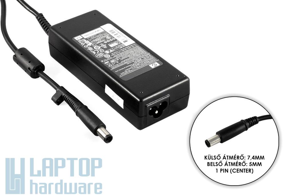 HP PPP012L-S 19V 4.74A 90W (center pin) gyári új laptop töltő (ED495AA, 384020-001)