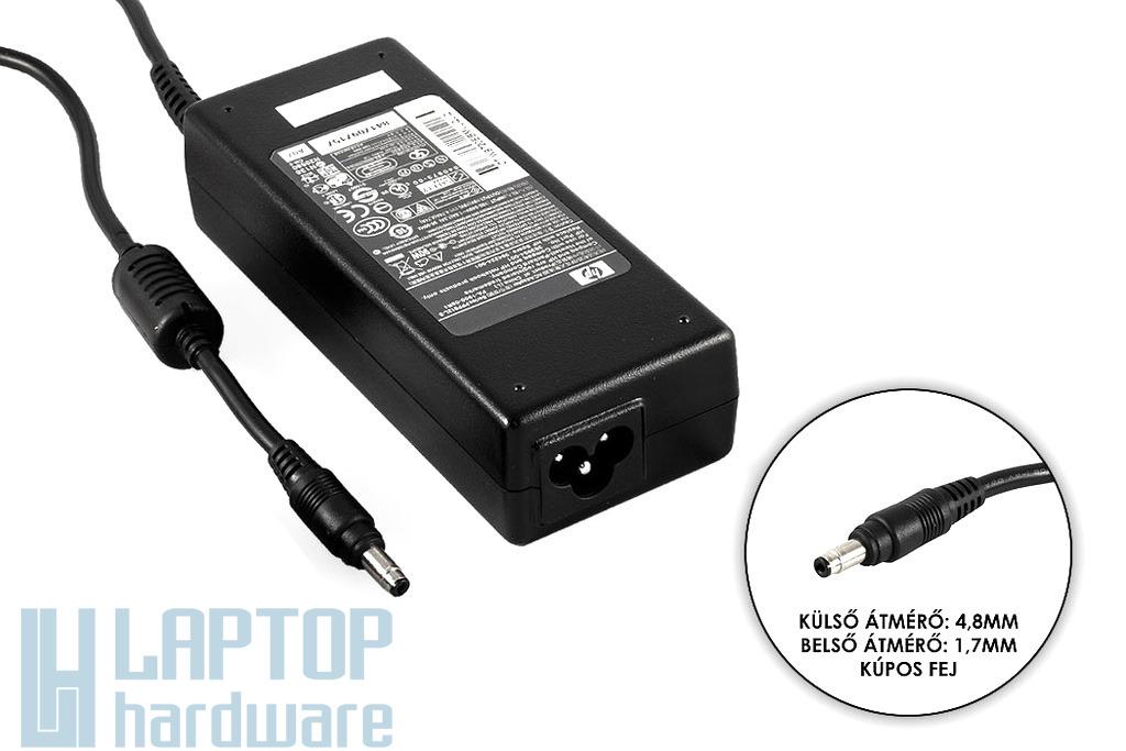 HP 19V 4.74A 90W, 4.8mm/1.7mm kúpos jack, gyári új laptop töltő (PPP012L-S)