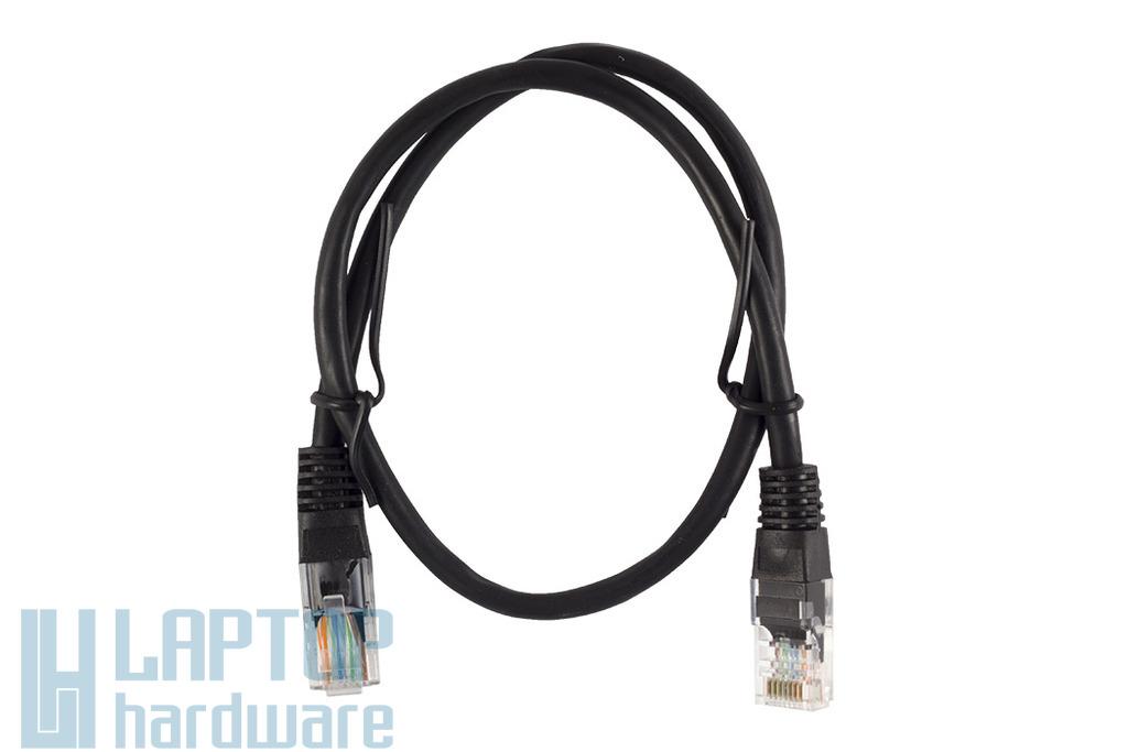 0.5m CAT.5E fekete UTP Patch kábel, WL021BG-0.5 BL