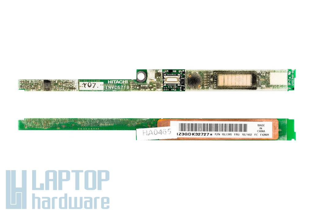 IBM T20, T21, T22 laptopokhoz használt LCD inverter 10L1395