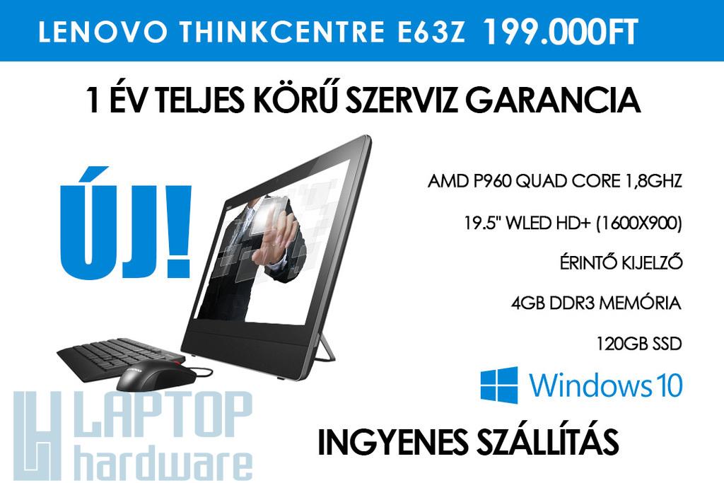 Lenovo ThinkCentre E63z érintőkijelzős minden egyben PC, All-In-One PC