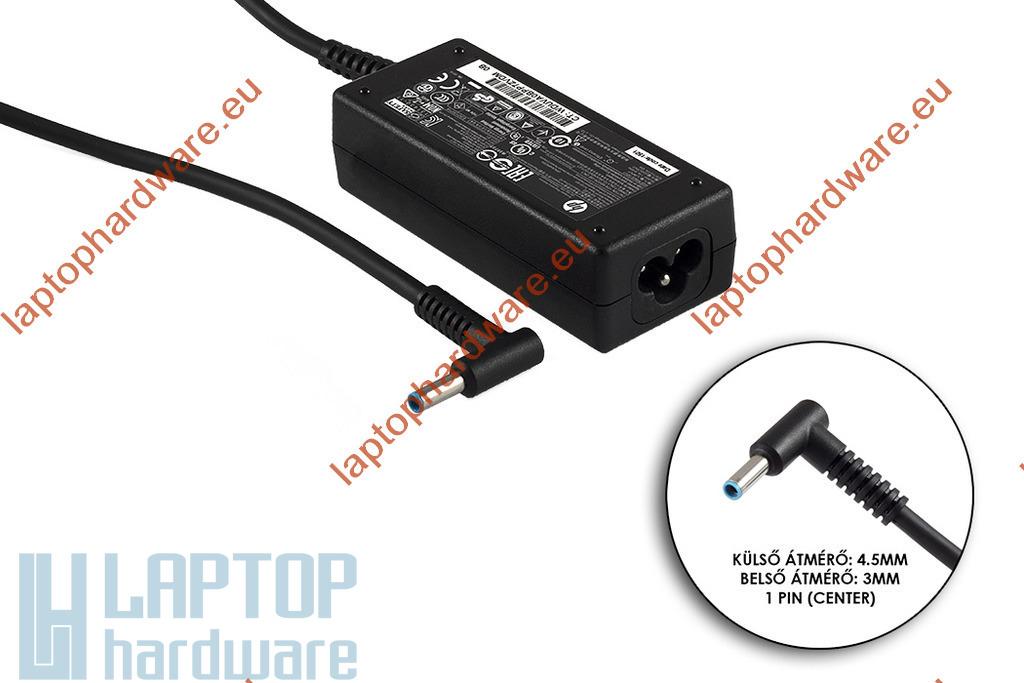 HP Pavilion 19.5V 2.31A 45W vékony center-pin 4.5mm * 3mm  használt laptop töltő (741727-001, 740015-002)