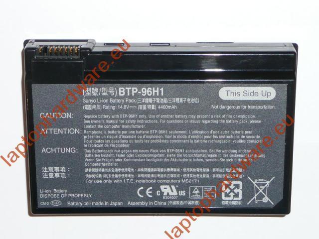 Acer Aspire 3020, 5020, Travelmate 2410 használt 25%-os laptop akku/akkumulátor (BTP-96H1)