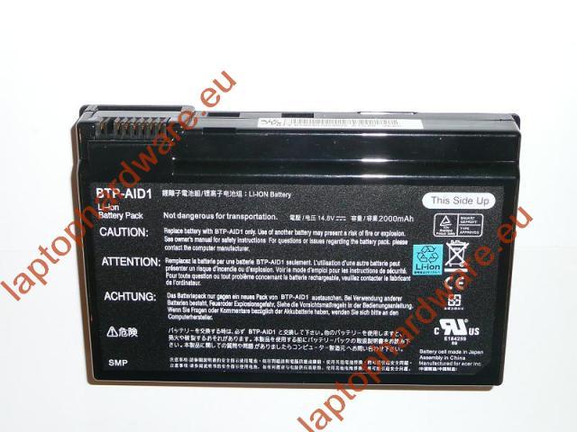 Acer Aspire 3020, 5020, Travelmate C314 3 cellás 90%-os használt laptop akkumulátor