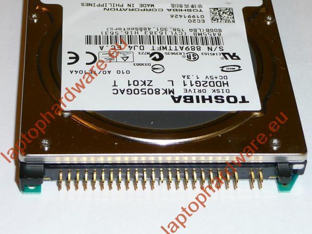 Toshiba 80GB IDE Winchester, MK8032GAX
