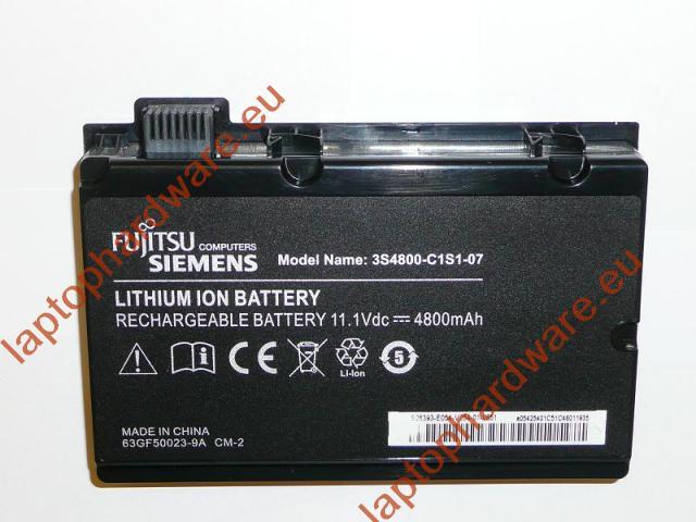 Fujitsu-Siemens Amilo Pi3450, Pi3540, Pi3525 laptop akku/akkumulátor  3S4800-C1S1-07