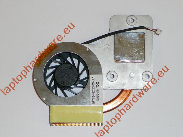 Fujitsu Amilo L1300, L7310, L7310GW Gyári Új komplett hűtő ventilátor egység