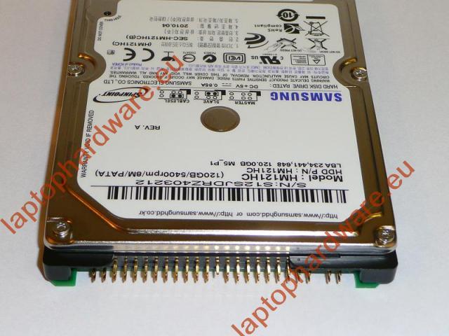 120GB 5400RPM 2,5'' IDE (PATA, Ultra ATA/100) gyári új laptop winchester, HDD