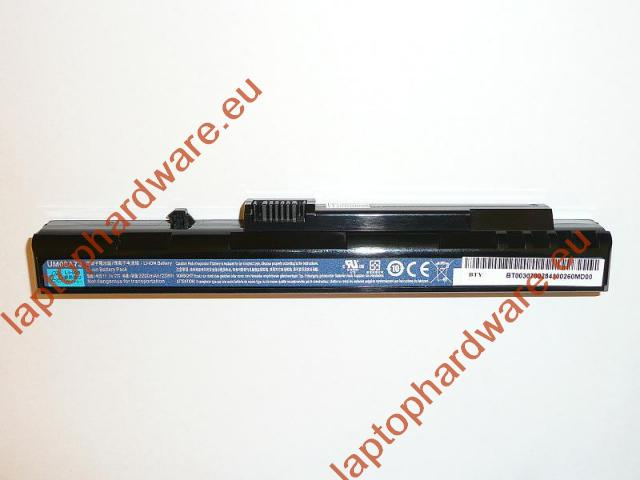 Acer Aspire One A110, A150, ZG5 fekete 3 cellás gyári új laptop akkumulátor