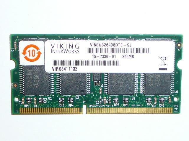 Viking 256MB SDRAM 133Mhz használt laptop memória