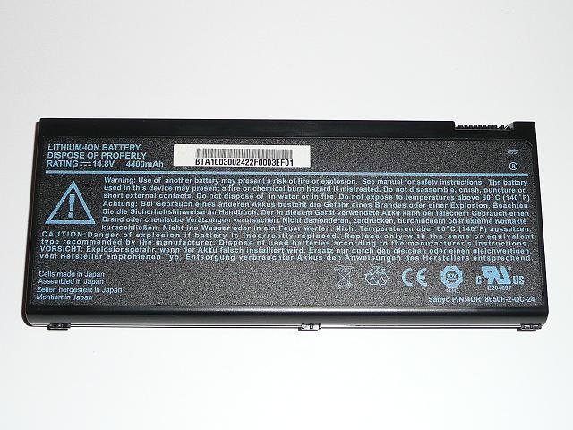 Acer Aspire 1350, 1510 8 cellás gyári új laptop akkumulátor