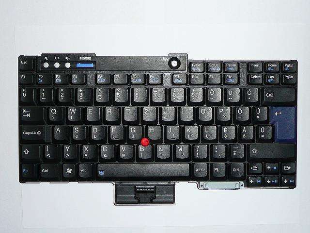 IBM Lenovo T60, T61 magyar laptop billentyűzet, 39T0999, 39T7003