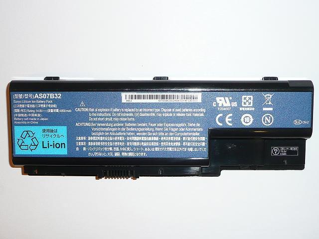 Acer Aspire 5220, 5720, Travemate 7230 AS07B32 8 cellás gyári új laptop akkumulátor
