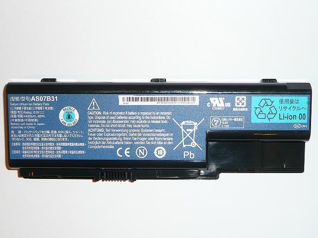 Acer Aspire 5220, 5720, Travelmate 7230 6 cellás gyári új laptop akkumulátor