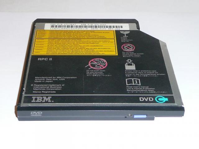IBM ThinkPad R40, T20, T30 DVD olvasó meghajtó