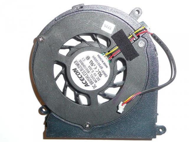 Sony Vaio VGN-CS110E, Maxdata Eco 4011 IW laptophoz gyári új hűtő ventilátor (B5510HB05)