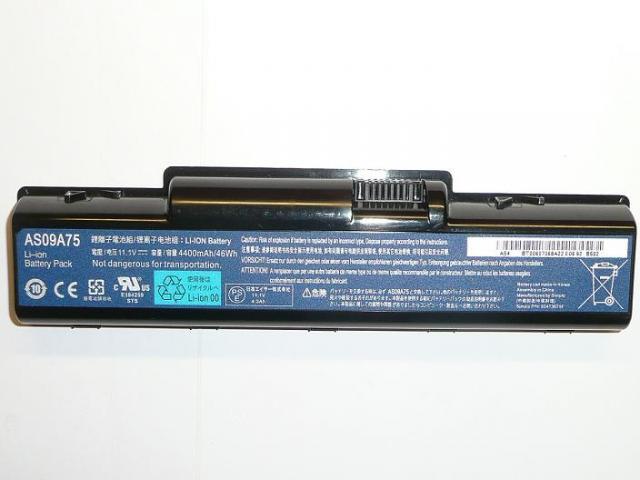 Acer Aspire 4732, 5332, eMachines D525 gyári új laptop akku/akkumulátor  AS09A75