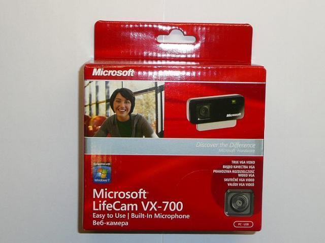 Microsoft LifeCam VX-700 webkamera