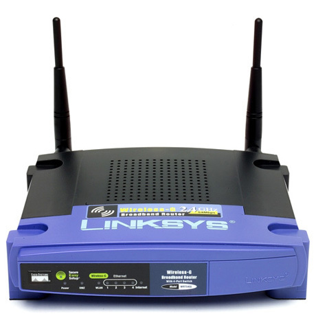 Linksys Wireless-G Router (WRT54GL)