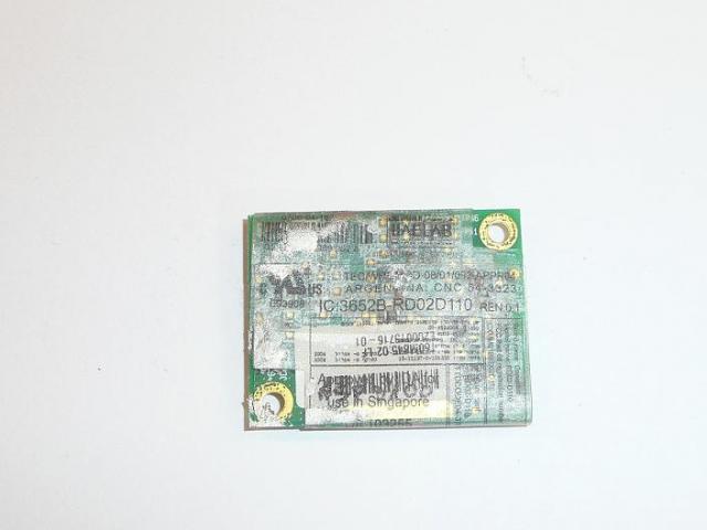 IC3652B RD02D110  Modem kártya.