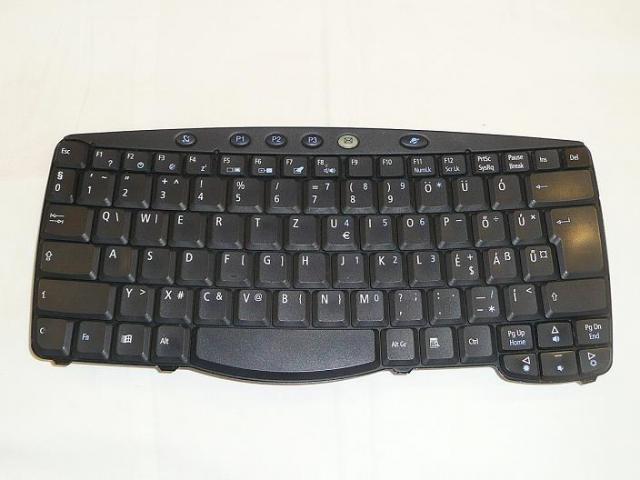 Acer Travelmate 610, 630 használt magyar laptop billentyűzet (NSK-A610Q, N3483.10Q)