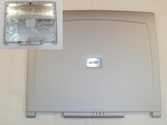 Acer Aspire 3630, 5600, Travelmate 230 gyári új laptop LCD hátlap, 60.46W13.004