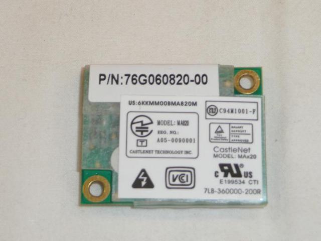 Fujitsu-Siemens Amilo Pi1505 laptophoz használt modem kártya(MA 820,76G060820-00)