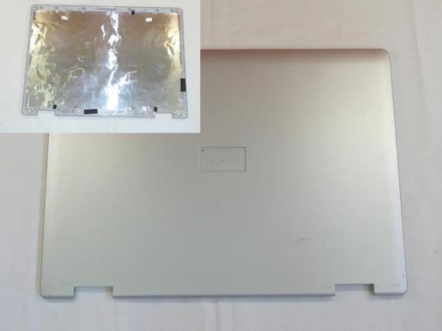 Fujitsu-Siemens Amilo Li2727 használt Lcd hátlap, 60.4B914.006  (15,4'')