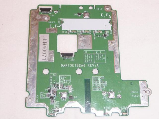 HP Pavilion ze4200 laptophoz használt Touchpad és LED panel(DAKT3ETB2A6)