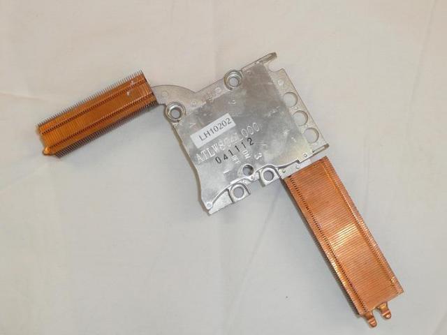 Acer Aspire 1670, Travelmate 2200, 2700 laptopokhoz használt hőelvezető cső, hűtőborda (ATLW804L000)