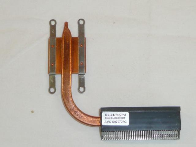Fujitsu Esprimo V5535 laptophoz használt hűtőborda, hőelvezető cső (6043B0036001A03)