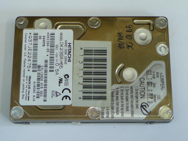 Hitachi DK239A-65 6GB IDE Winchester