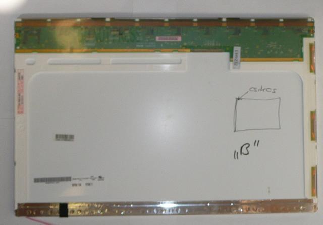 B154EW01 WXGA 1280*800 B kategóriás