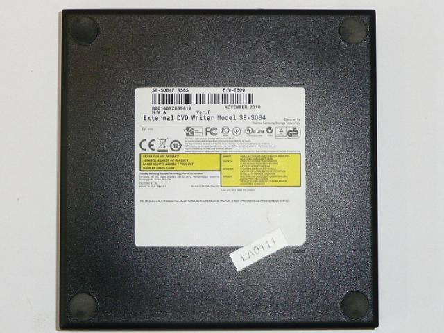 Samsung fekete USB Slim külső DVD RW, SE-S084F/RSBS