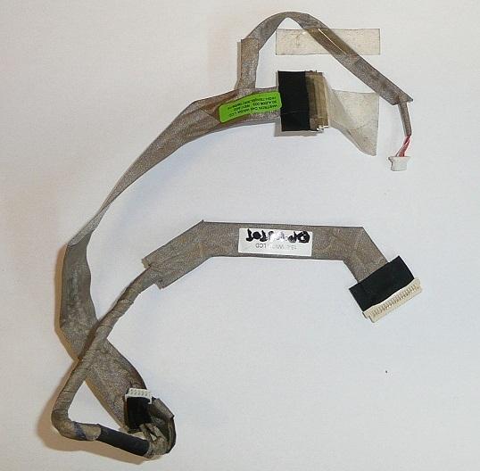 Fujitsu-Siemens Esprimo V6545, V6535, V6505 laptophoz használt LCD kábel 50.4J008.003  (15.4'') WXGA