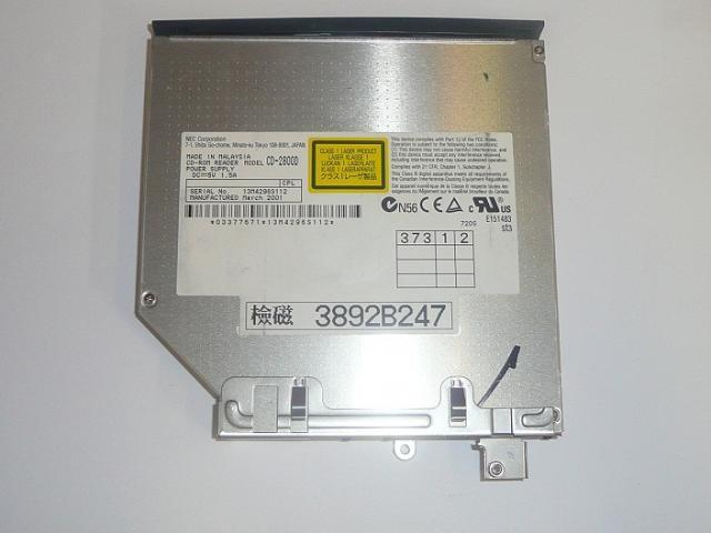 NEC használt laptop CD olvasó CD-2800D
