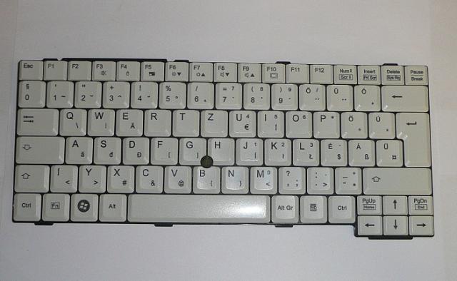 Fujitsu LifeBook C1410, E8210, S7110 használt magyar laptop billentyűzet