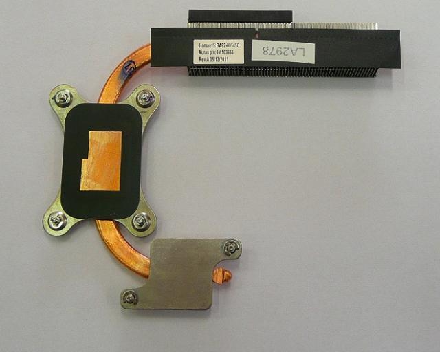 Samsung RC520, RV520, RV720 laptophoz használt hőelvezető cső (BA62-00545C)