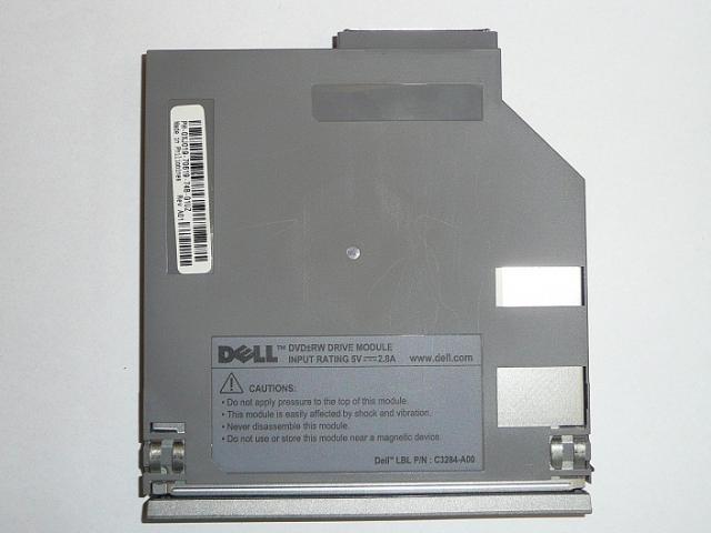 Dell Latitude D400, D500, D600, D620, D630, D800 laptophoz DVD-Író olvasó