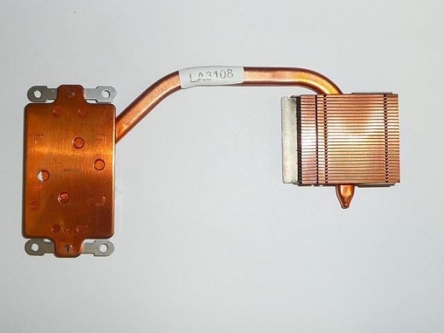 Albacomp Optimo V4 használt laptop hőelvezető cső