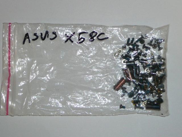 Asus X58C Csavarszett