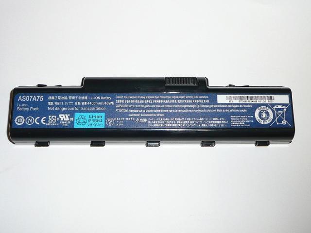 Acer Aspire AS07A75 100%-os 6 cellás használt laptop akkumulátor