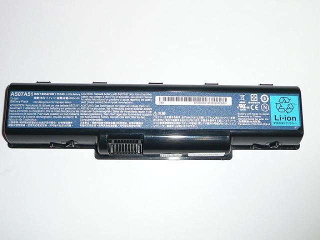 Acer Aspire AS07A51 100%-os 6 cellás használt laptop akkumulátor