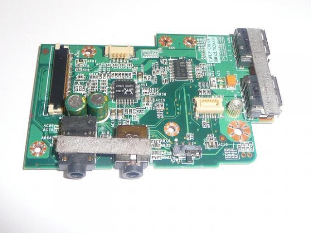 Fujitsu-Siemens Amilo Li1818 Audió és USB panel