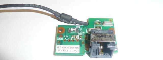 Fujitsu-Siemens Amilo Li1818 Modem Csatlakozó panel