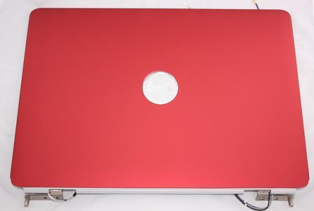Dell Inspiron 1525, 1526 laptophoz Gyári Új piros kijelző hátlap zsanérokkal