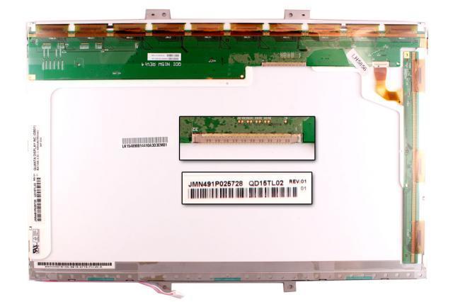 Quanta QD15TL02 15.4'' WXGA használt matt notebook kijelző