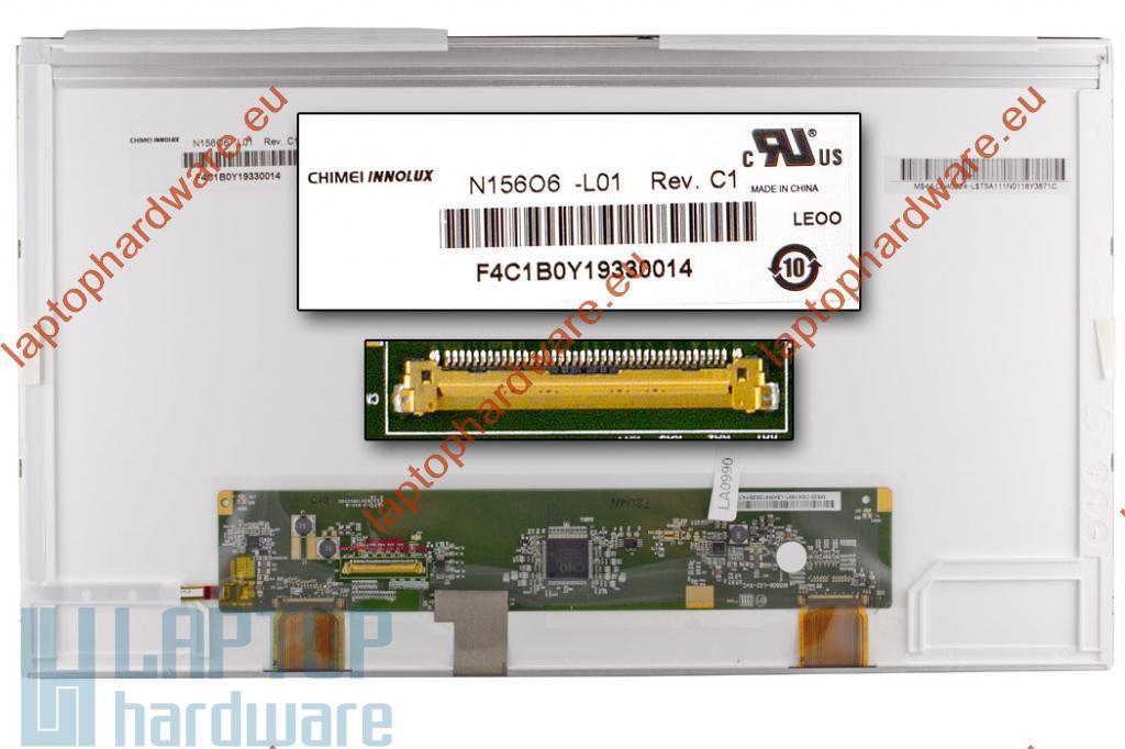 N156O6-L01 15.6'' WXGA++ (HD+)  1600*900 LED matt laptop kijelző (Pixel hibás)